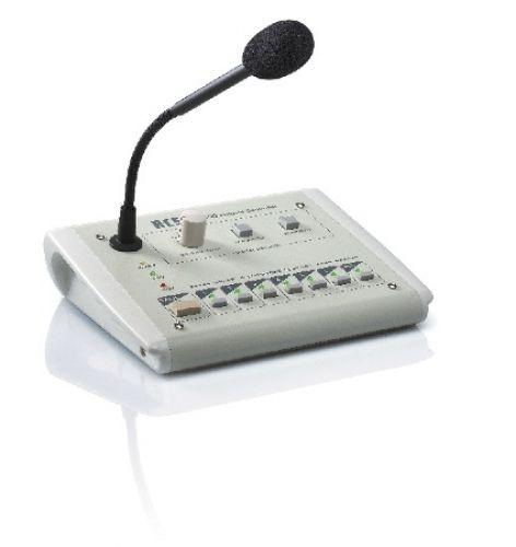 VLM206 Mikrophon-Sprechstelle fuer 6 Kreise und Textmodul fuer