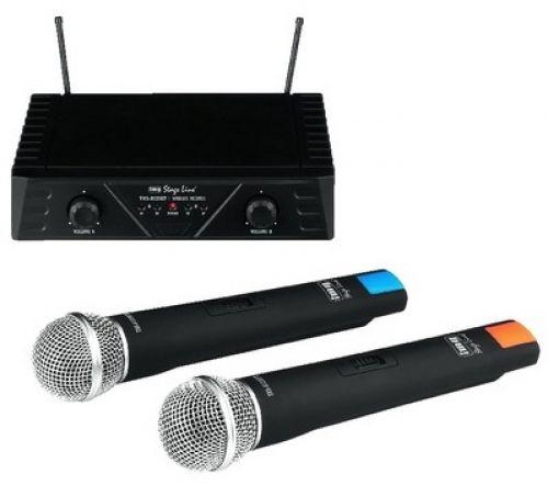 Drahtloses 2-Kanal-Mikrofonsystem TXS-812SET