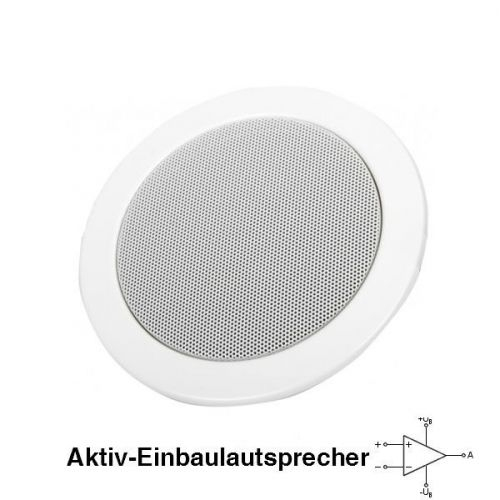 kleiner Aktiv-Einbaulautsprecher DAN-AK-1010