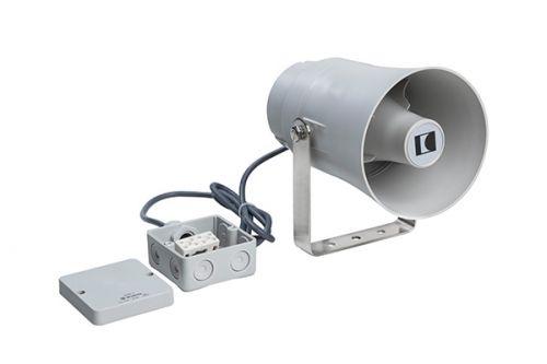 Druckkammerlautsprecher 100V, zertifiziert nach EN 54-24