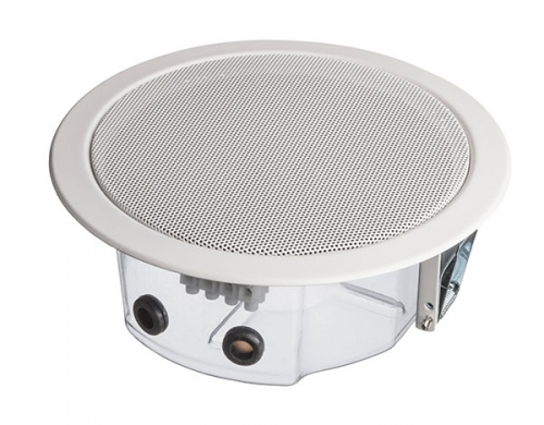 Deckeneinbaulautsprecher, 6 Watt, 100 V, EN 54-24