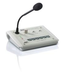 VLM-205 Mikrophon-Sprechstelle fuer 5 Kreise und Textmodul fuer