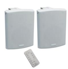 APart Kompaktes aktives 2-Wege Lautsprecherset mit Fernbedienung