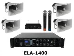 ELA-1400 Sportplatzbeschallungsanalge, Beschallung für Sportplat