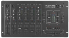 6-Kanal-Stereo-Mischpult MPX206/SW