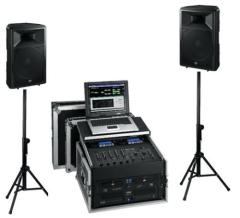DAN-4000 mobile Beschallungsanlage und DJ-Anlage