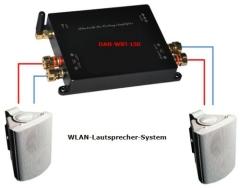 DAN-WiFi-150 WLAN Innen- und Aussenlautsprecher