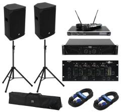 DAN-1000-PA Kompakte mobile PA Musikanlage