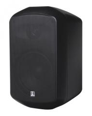 MS 50-165/T schwarz-EN54 Monitorbox, 50 Watt, 100 Volt, zertifiz