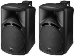 2-Wege-Lautsprecherboxen-Paar PAB-68/SW