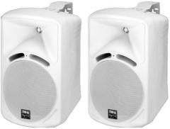 2-Wege-Lautsprecherboxen-Paar PAB-68/WS